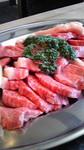 バラ&モモの焼き肉セット