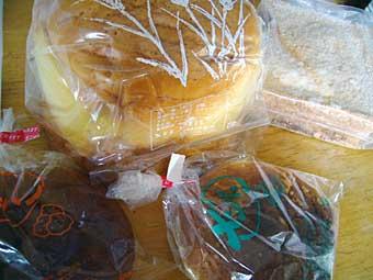 花月堂のパン
