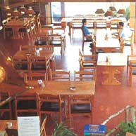 レストラン内