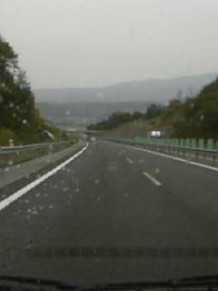 高速道路音江あたり