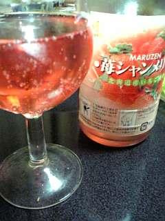苺のシャンメリー
