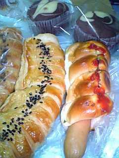 剣淵の道の駅のパン