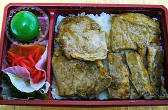 ぽっぽ亭の豚丼