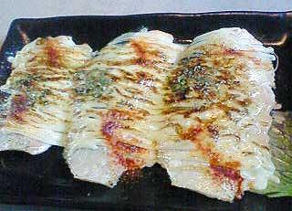 サーモンのマヨネーズ炙り焼き