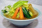 醤油野菜ラーメン