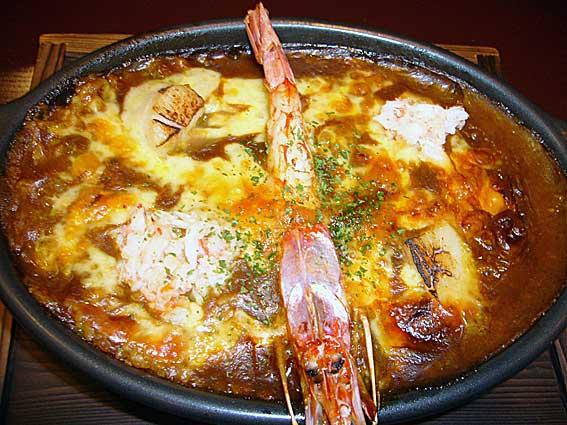 海鮮焼きカレー